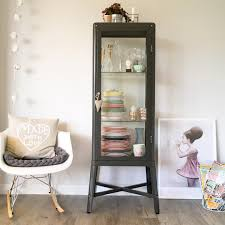 ikea cabinet cheaper than a vintage medical cabinet to showcase