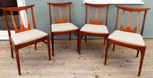 G Plan Dining Chair Antiques Atlas G Plan E Gomme Brasilia Dining Chairs X 4