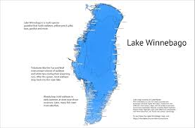 Green Lake Wisconsin Map by Lake Winnebago Wi Walleye Factory Northland Fishing Tackle