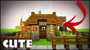 How To Build A Small House Minecraft How To Build A Small Survival House Tutorial Small