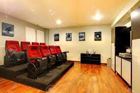 movie chairs for home theaters home tv movie theater entertainment room interior with real cinema