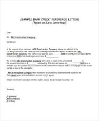 best ideas of sample character reference letter for bank account