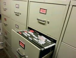 Commercial File Cabinets Used Vertical Legal Filing Cabinets Hirsh 25 Inch Deep 2 Drawer