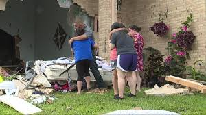 a mesquite man is dead after a truck plows into his home cw33