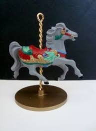 hallmark carousel ornaments 1989 set of 4 with by theshortlist