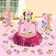 minnie mouse center pieces minnie mouse centerpiece party supplies ebay
