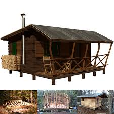 simple cabin plans small cabin plans