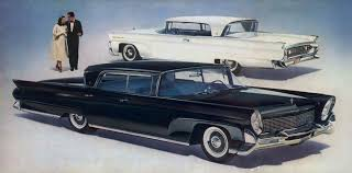 curbside classic 1960 lincoln sedan trying to out cadillac cadillac