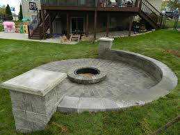 Cool Firepit by Paver Patio Contractor Rosemount Mn Devine Design Hardscapes