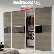 Glass Wardrobe Doors Sliding Glass Wardrobe Doors Prices Spacepro Ellipse Sliding