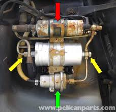 mercedes benz 190e fuel filter replacement w201 1987 1993