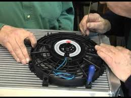engine cooling using the kenlowe electric fan electric water pump