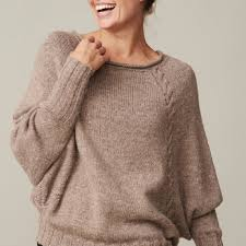 s sweater patterns s dolman sleeve sweater pdf knitting pattern cable knit