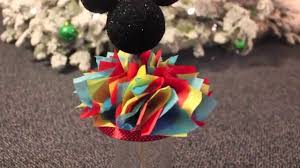 mickey mouse centerpieces diy mickey mouse centerpiece