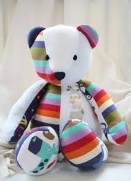 remembrance teddy bears memory with s threads he will b a handsome