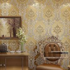 damask home decor luxury classic wall paper home decor background wall damask