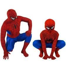 Superhero Halloween Costumes Men Q0228 Classic Spider Man Kids Superhero Lycra Spiderman Hero
