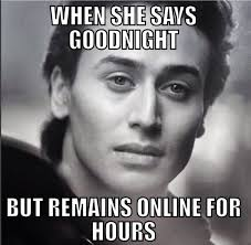 Goodnite Meme - meme when she texts you goodnight