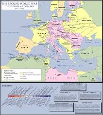 Map Of Europe And Asia by Ww Ii Maps