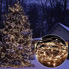 led christmas string lights outdoor amir solar powered string lights 100 led christmas lights starry