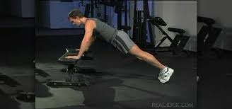 Bench Press Ups How To Do Flat Bench Push Ups Body Sculpting Wonderhowto
