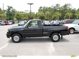 mazda b2500 2001 mazda b series truck b2500 sx regular cab in mystic black