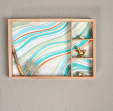 create an easy marbled wall decor from a wooden toy box hometalk
