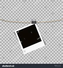 photo frame hanging on on stock vector 357038636 shutterstock