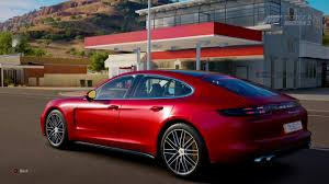 porsche panamera turbo 2017 back forza horizon 3 2017 porsche panamera turbo youtube