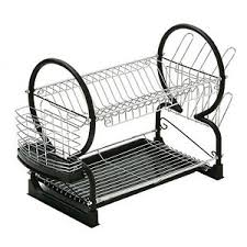 dish drainer for small side of sink side dish drainer rack drainers small compact kitchen sink 2 tier