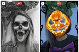 facebook will let you turn your face into a pumpkin for halloween