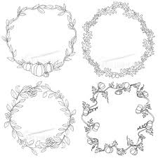 autumn wreath coloring pages coloring sheets