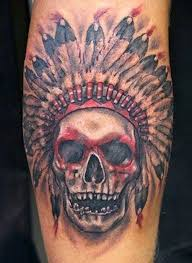 indian headdress tattoo on ribs 37 indian skull tattoos and their powerful meanings tattoos win