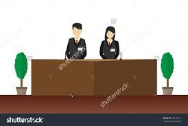 Pictures Of Reception Desks by Reception Desk Clip Art U2013 Clipart Free Download