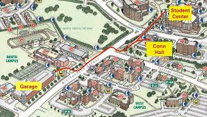 scsu map directions and cus info