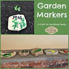 garden markers the activity garden markers craft the activity