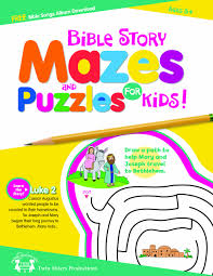 bible story mazes u0026 puzzles for kids 48 page activity book twin