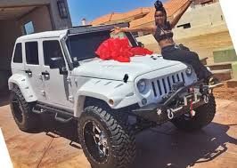 blac chyna jeep kim kardashian hollywoods rapper the game buys his assistant a