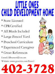 daycare advertising examples 3 full time daycare flyer daycare