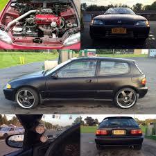 honda hatchback 1993 honda civic hatchback 1993 black for sale 2hgeh338xph531053 1993