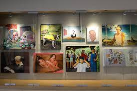 display art painting i students display artwork in usdan news wesleyan