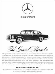 mercedes ads the ultimate the grand mercedes print ads hobbydb