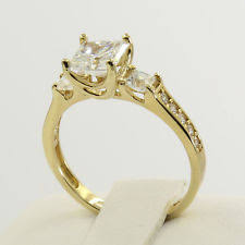 engagement rings yellow gold yellow gold engagement ring ebay