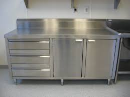 Kitchen Commercial Kitchen Cabinet On Kitchen Inside Stainless - Kitchen steel cabinets