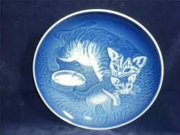 8 best my b g copenhagen s day blue plates images on