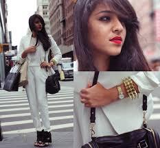 sears jumpsuit naina kamath zara white jumpsuit forever 21 white blazer