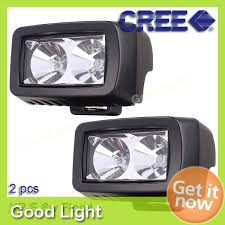 led fog light kit new arrival 2pcs lot square 8w offroad led work light working l