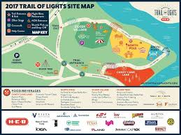 trail of lights parking navigating the austin trail of lights 2017