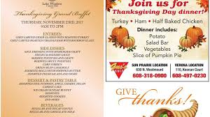 thanksgiving dining wsj ad vault host