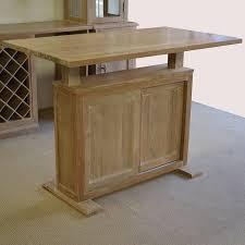 Oak Bar Table Lime Washed Oak Bar Counter Doors And Drawers U2013 Custom Made